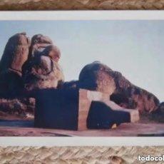 Postales: MUSEO WOLF VOSTELL 1976 ESCULTURA CONCEPTUAL EN LOS BARRUECOS.. Lote 183677902