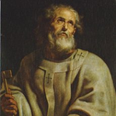 Postales: POSTAL OBRA DE P.P. RUBENS (1577-1640) SAN PEDRO – ESCUDO DE ORO Nº 121 – S/C. Lote 183713160