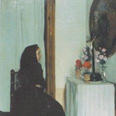 Postales: POSTAL OBRA DE RAMON CASAS (1866-1932) LA VIUDA – COL. JOIES DEL MUSEU Nº 5 – S/C. Lote 183713351