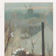 Postales: POSTAL OBRA DE RAMON CASAS (1866-1932) MONTMARTRE – COL. JOIES DEL MUSEU Nº 7 – S/C. Lote 183713411