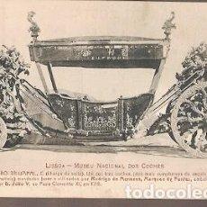Postales: PORTUGAL ** & POSTALE, MUSEO NACIONAL DEL ENTRENADOR, COCHE TRIUMPHAL 1716 (6773). Lote 183740035