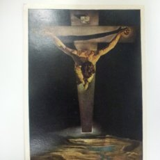 Postales: POSTAL. SALVADOR DALÍ. CHRIST OF ST. JOHN OF THE CROSS. ESCRITA.. Lote 183910308