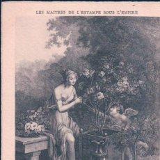 Postales: POSTAL LES MAITRES DE L'ESTAMPE SOUS L'EMPIRE - L'OEUVRE DE SCHALL - ND PHOT. Lote 183995638