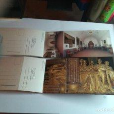 Postales: 2 LIBRETOS DE POSTALES. SERIE B Y C. 10 VISTAS DE EL ESCORIAL. Lote 184704283