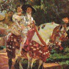 Postales: JOAQUIN SOROLLA, RETRATO DE ELENA Y MARIA EN TRAJES VALENCIANOS. Lote 188340742