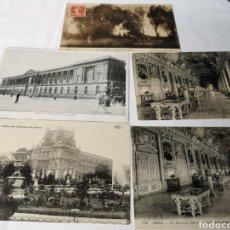 Postales: 5 POSTALES FRANCESAS DEL MUSEO DEL LOUVRE DE PARIS. PRINCIPIOS S.XX. Lote 188622623