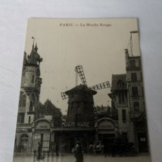 Postales: POSTAL FRANCESA DEL TEATRO MOULIN ROUGE DE PARÍS. CIRCULADA. Lote 188624632