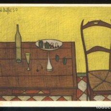 Postales: *BERNARD BUFFET - NATURE MORTE À LA CHAISE. 1950* ED. F. HAZAN Nº 444. NUEVA.. Lote 189274255