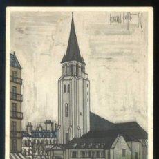 Postales: *BERNARD BUFFET - PARIS. SAINT-GERMAINE-DES-PRÉS* ED. F. HAZAN Nº 464. NUEVA.. Lote 189274360