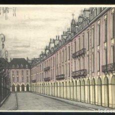 Postales: *BERNARD BUFFET - PARIS. LA PLACE DES VOSGES* ED. F. HAZAN Nº 461. NUEVA.. Lote 189274425