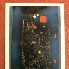 "Postales: PAUL KLEE ""DAS ABENTEURERSCHIFF, 1927"". POSTAL SIN CIRCULAR BY S.I.A.E 1994.. Lote 189298683"