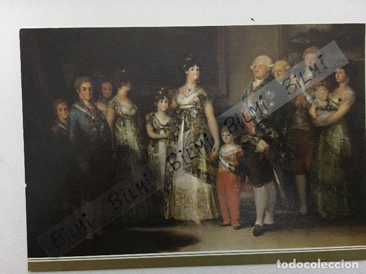 POSTAL, GOYA, LA FAMILIA DE CARLOS IV, MUSEO DEL PRADO (Postales - Postales Temáticas - Arte)