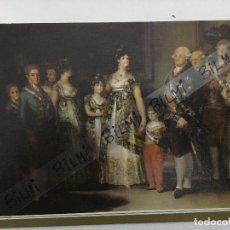 Postales: GOYA, LA FAMILIA DE CARLOS IV, MUSEO DEL PRADO. Lote 189388302