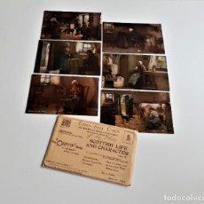 Postales: SET DE 6 POSTALES TUCKS POST CARDS THE OILETTE SERIES NUMERADA. Lote 189568905