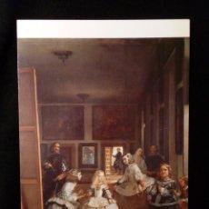 Postales: POSTAL MUSEO DEL PRADO LAS MENINAS O LA FAMILIA DE FELIPE IV VELÁZQUEZ SIN CIRCULAR. Lote 189588026