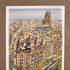 """Postales: JORGE ARRANZ """"EDIFICIO LES PUNXES"""". POSTAL SIN CIRCULAR SOMBRAS EDICIONES 1988, N° 119. BARCELONA. Lote 190549493"""