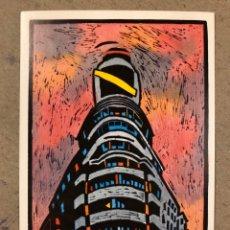 """Postales: JORGE ARRANZ """"CAPITOL"""". POSTAL SIN CIRCULAR SOMBRAS EDICIONES 1986, N° 51. MADRID.. Lote 190554708"""