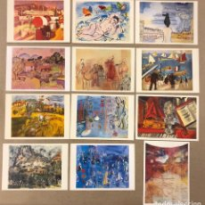 Postales: RAOUL DUFY. LOTE 12 POSTALES SIN CIRCULAR. CLOUDED TIGER PUBLISHING (1987).. Lote 190710658