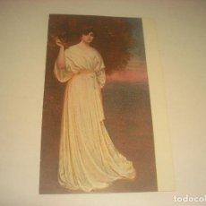 Postales: RETRATO DE LA SEÑORA V . RAMON CASAS. ED. VICTORIA , SIN CIRCULAR.. Lote 191528146