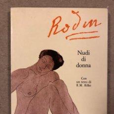 Postales: RODIN, NUDI DI DONNA CON UN TESTO DI R.M. RILKE. SERIE DE 12 POSTALES.. Lote 191617638
