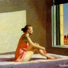 Postales: POSTAL DEL CUADRO MORNING SUN, DE EDWARD HOPPER. TEMA: PINTURA, ARTE, SOL DE LA MAÑANA.. Lote 258988485