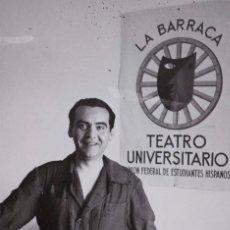 Postales: POSTAL DE FEDERICO GARCÍA LORCA. TEMA: ESCRITOR.. Lote 192010742