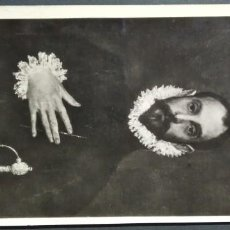 Postales: HELIOTIPIA MADRID - MUSEO DEL PRADO 809 GRECO - CABALLERO DE LA MANO EN EL PECHO- TARJETA POSTAL A. Lote 192474435
