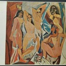 Postales: LES DEMOISELLES D´AVIGNON - PICASSO - MUSEUM MODERN ART NEW YORK - TARJETA POSTAL ARTEA8. Lote 192476651