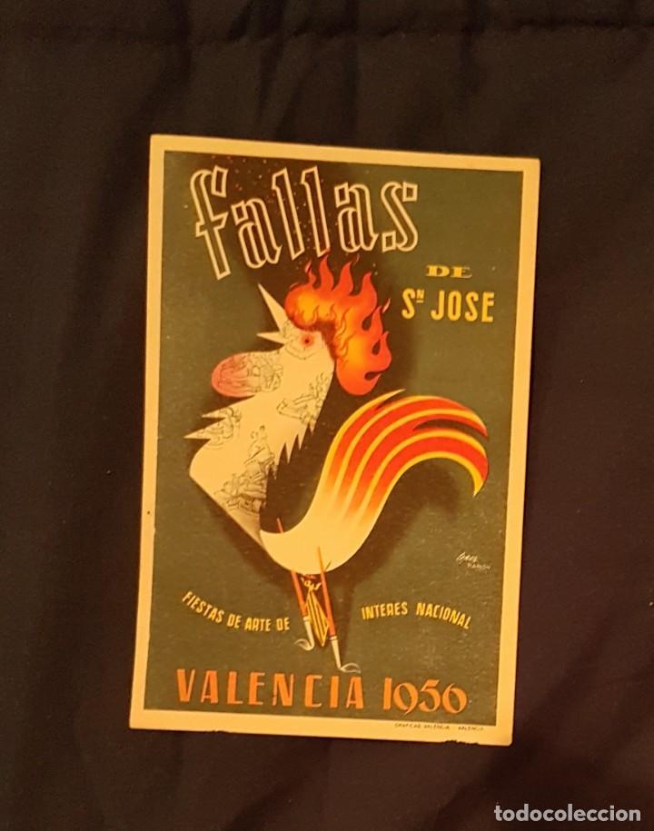 FALLAS SAN JOSÉ VALENCIA 1956 (Postales - Postales Temáticas - Arte)
