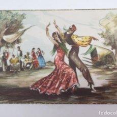 Postales: POSTAL FOLKLORE ESPAÑOL (ZAMBRA) 1954. Lote 193085041