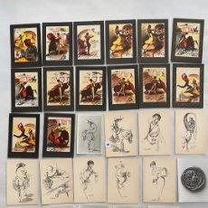 Postales: POSTALES DE TORREMOLINOS , MILLAN LLAMAS , MAHRAUN Y MONEDAS , 29 UNIDADES - N.48. Lote 193166355