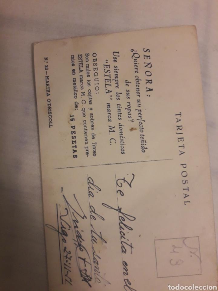 Postales: Antigua postal Martha O Driscoll actriz - Foto 2 - 194237795