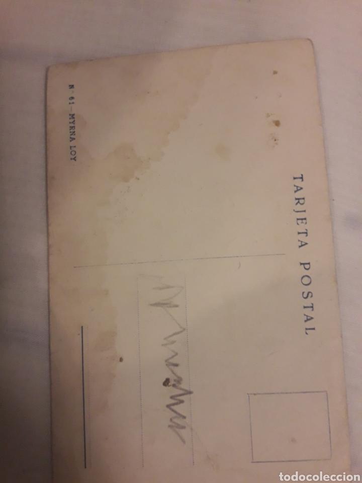 Postales: Antigua postal Myrna Loy - Foto 2 - 194238226