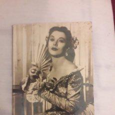 Postales: POSTAL ANTIGUA HEDDY LAMARR. Lote 194238475