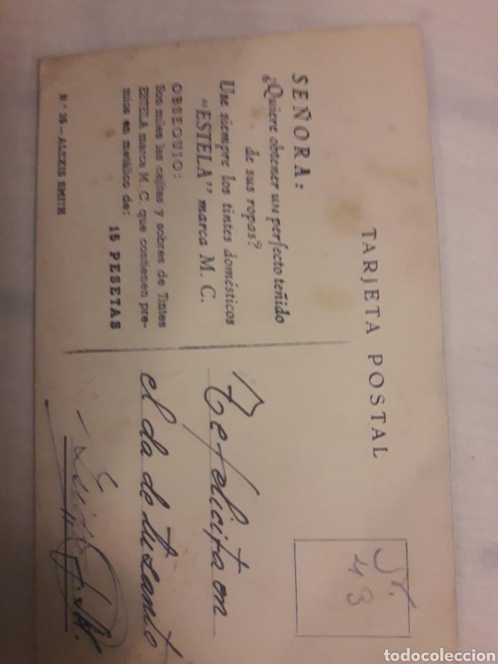 Postales: Postal antigua Alexis Smith - Foto 2 - 194238598