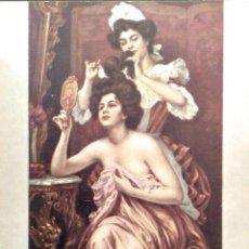 Cartoline: PINTURA: TOILETTE DE GAMPEURIEDER. MUSEO DEL LOUVRE (PARÍS). NUEVA. COLOR. Lote 194362567