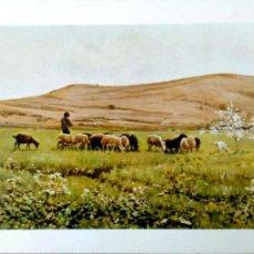 Postales: PINTURA: LO REMAT DE JOAQUÍN VAYREDA. 19 MUSEO DE ARTE MODERNO (BARCELONA). ESCUDO DE ORO. NUEVA. CO. Lote 194362762