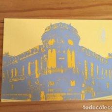 Postales: POSTAL SGAE, SOCIEDAD GENERAL DE AUTORES DE ESPAÑA. BOCETO EDIFICIO DE LA SEDE. Lote 194407506