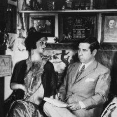 Postales: POSTAL DE LA FOTOGRAFÍA RETRATO DE RAMÓN GÓMEZ DE LA SERNA, DE ALFONSO SÁNCHEZ PORTELA. ESCRITOR. Lote 194531348