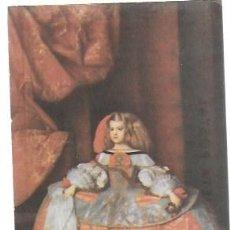 Postales: VELÁZQUEZ. MUSEO DEL PRADO. MADRID. EDICIONES BARSAL BARCELONA 12X9 CM.. Lote 194612425