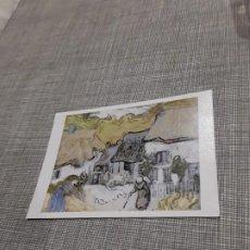 Postales: POSTAL VICENT VAN GOGH ARTÍSTICA TEJADOS DE PAJA EN JARGUS . Lote 194616302