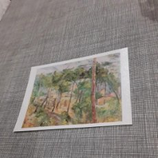 Postales: POSTAL IMAGEN DE PINTURAS FAMOSAS PAISAJE EN L,ESTAQUE PAUL CEZANNE. Lote 194616840