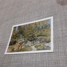 Postales: POSTAL IMAGEN DE PINTURAS FAMOSAS LAS LAVANDERAS ALFRED SISLEY . Lote 194617065