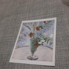 Postales: POSTAL ARTÍSTICA IMAGEN FAMOSA FLORES EN JARRA VICENT VAN GOGH . Lote 194617845