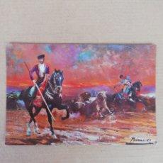 Postales: POSTAL ÓLEO DE A PALMERO 801. Lote 194707323