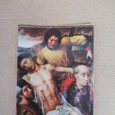 Postales: POSTAL GRANADA CAPILLA REAL DESCENDIMIENTO DE MEMLING SIGLO XV. Lote 194712595