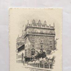 Postales: FELICITACIÓN NAVIDAD. PALAU DE LA GENERALITAT. VALENCIA. ILUSTRACIÓN DEBLADE.. Lote 194754932