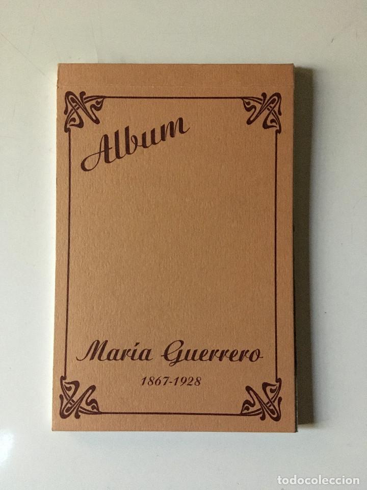 ALBUN DE POSTALES DE MARÍA GUERRERO 1867- 1928 (Postales - Postales Temáticas - Arte)