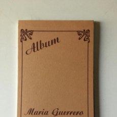 Postales: ALBUN DE POSTALES DE MARÍA GUERRERO 1867- 1928. Lote 194861337