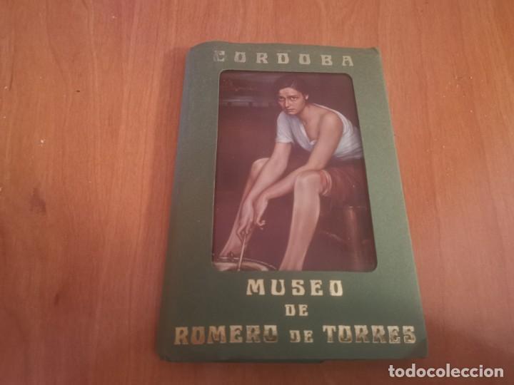 LIBRITO ACORDEÓN 10 POSTALES CÓRDOBA MUSEO DE ROMERO DE TORRES (Postales - Postales Temáticas - Arte)